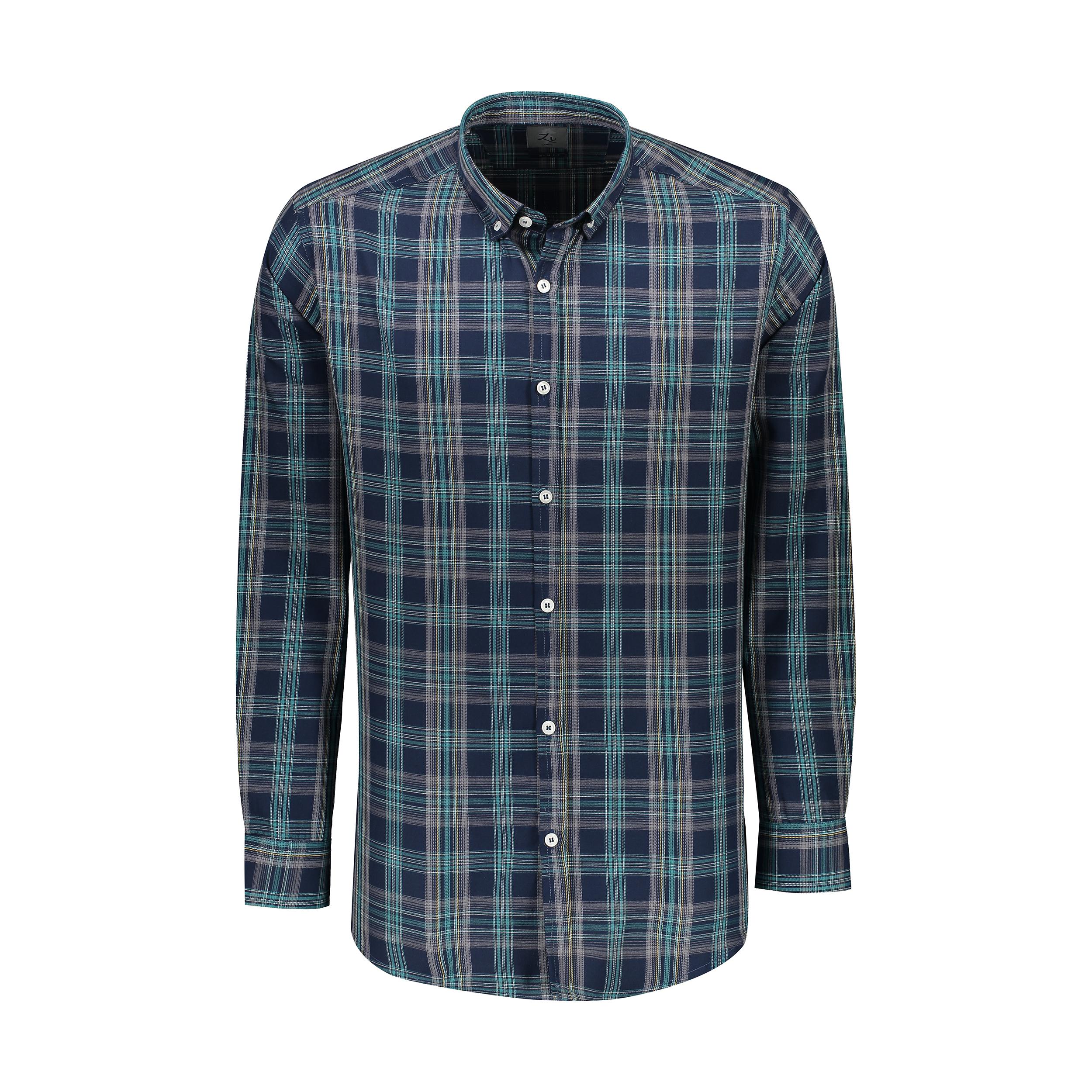 پیراهن آستین بلند مردانه زی مدل 1531341MC