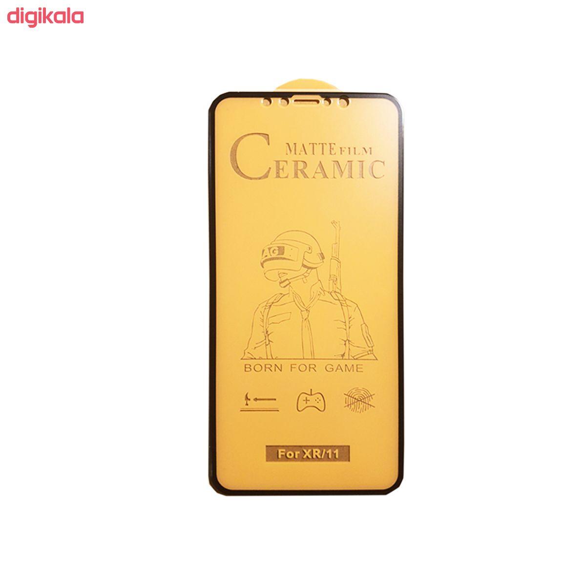 برای محافظ صفحه نمایش سرامیکی مدل FLCRM01me مناسب گوشی موبایل اپل iPhone XR main 1 2
