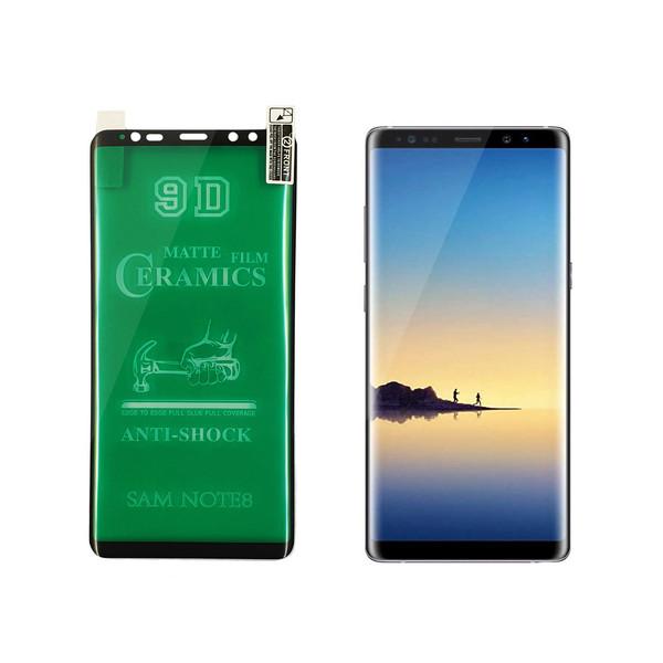 محافظ صفحه نمایش سرامیکی مدل GFLCRM 01pr مناسب برای گوشی موبایل سامسونگ Galaxy Note 8