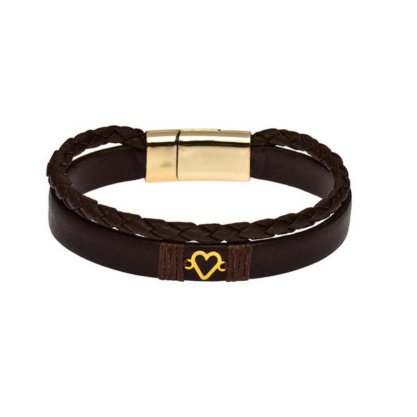 دستبند طلا 18 عیار زنانه کرابو مدل Kr1038