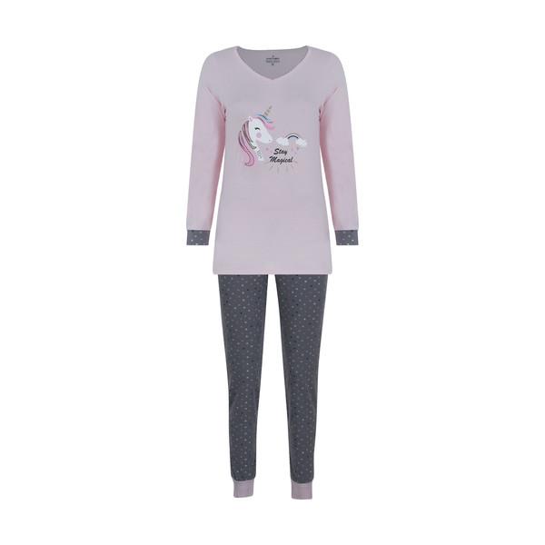 ست تی شرت و شلوار راحتی زنانه ناربن مدل 1521253-84