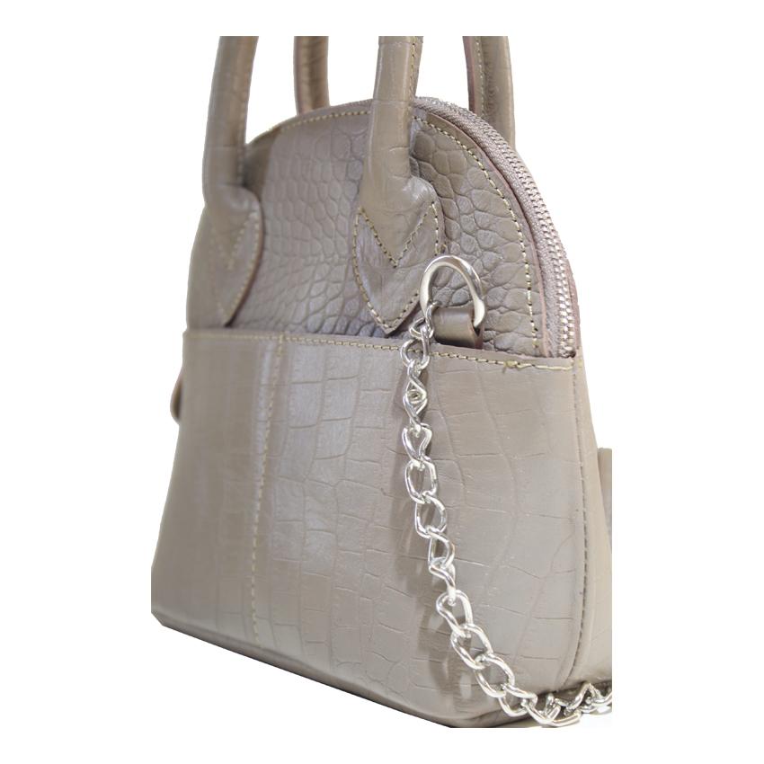 کیف دوشی زنانه چرم آرا مدل d076 -  - 22
