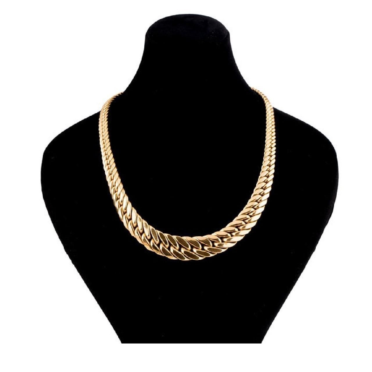 زنجیر طلا 18 عیار زنانه گالری یار طلا کد ZK201-45