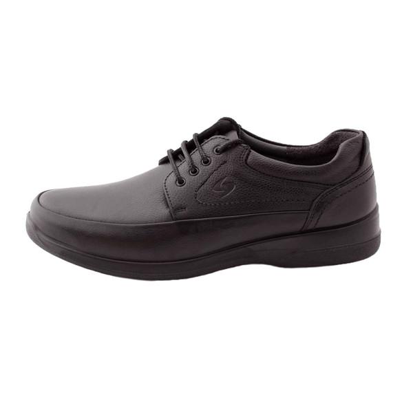 کفش روزمره مردانه ساینا چرم مدل M102