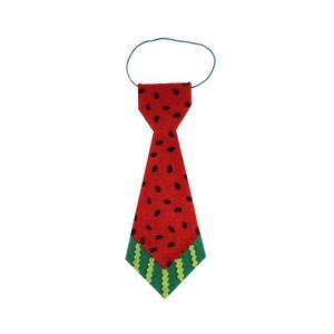 کراوات پسرانه طرح هندوانه شب یلدا مدل 5001RT