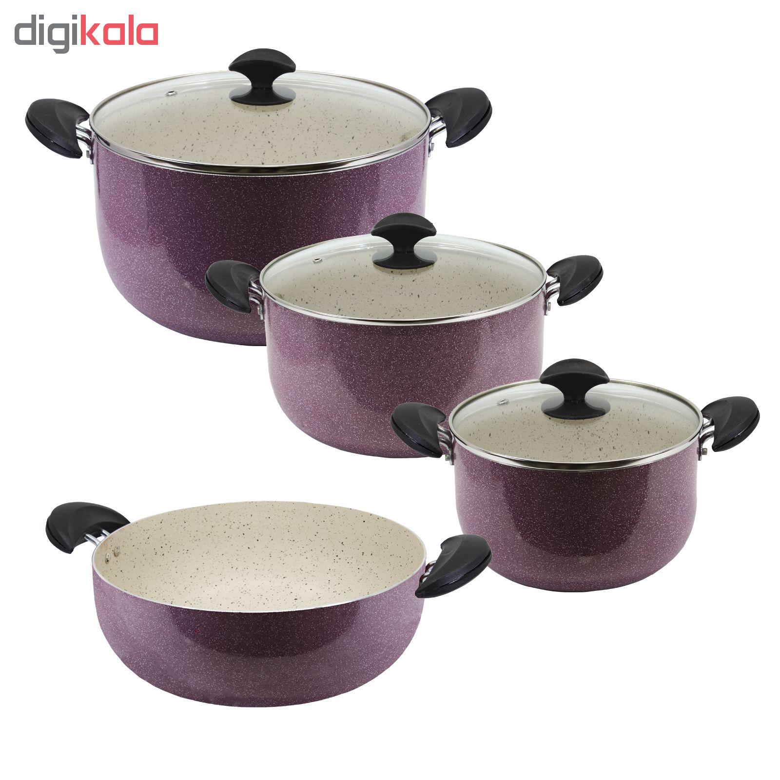 سرویس پخت و پز 7 پارچه هلنا مدل VITI