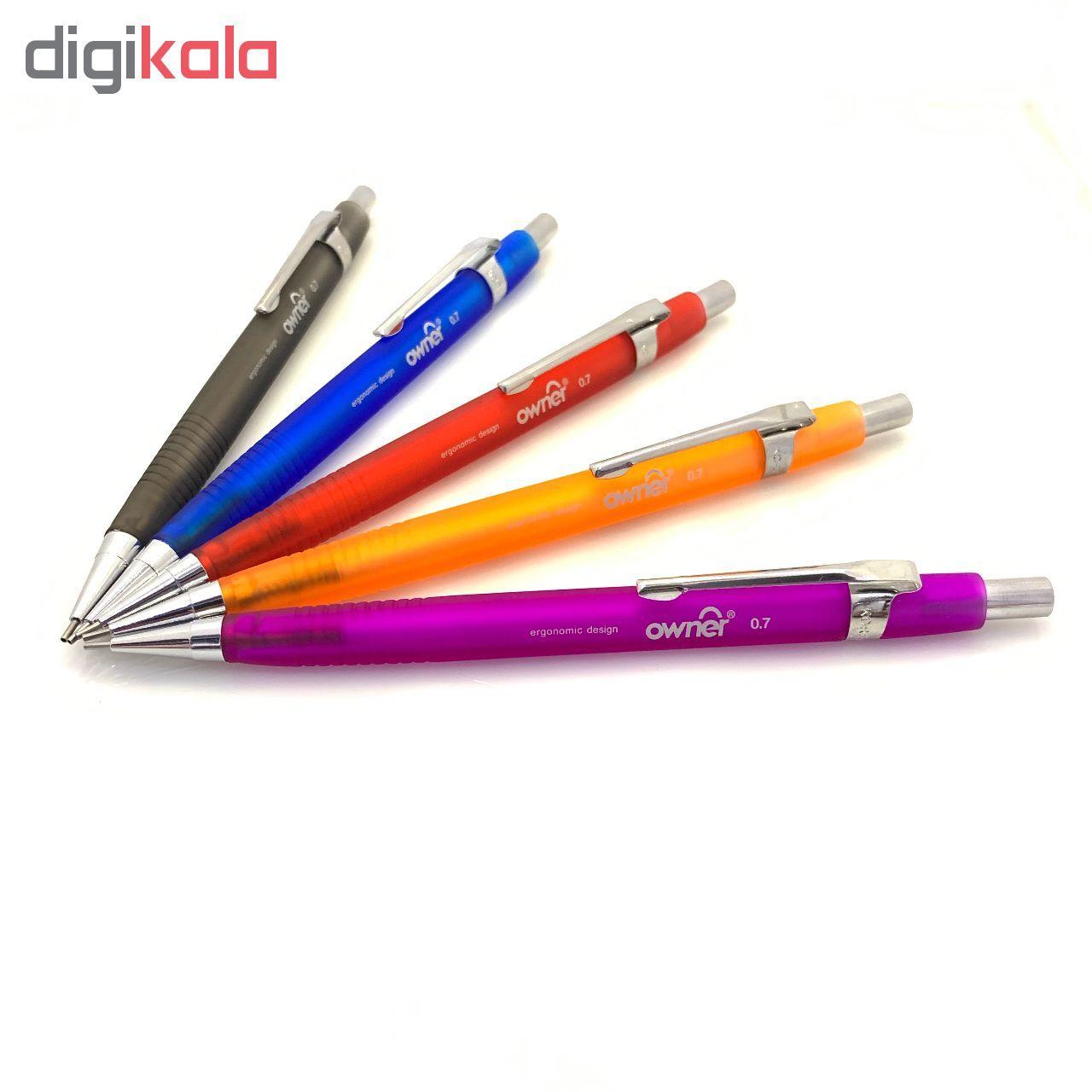 مداد نوکی اونر کد 115200 قطر نوشتاری  0.7 میلی متر main 1 6