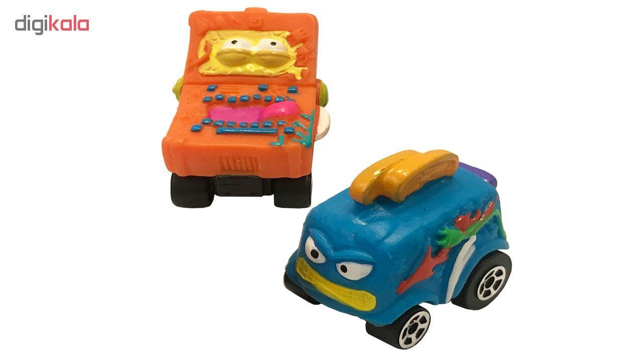 ماشین اسباب بازی ترش پک مدل Rust Buckets بسته 2 عددی main 1 1