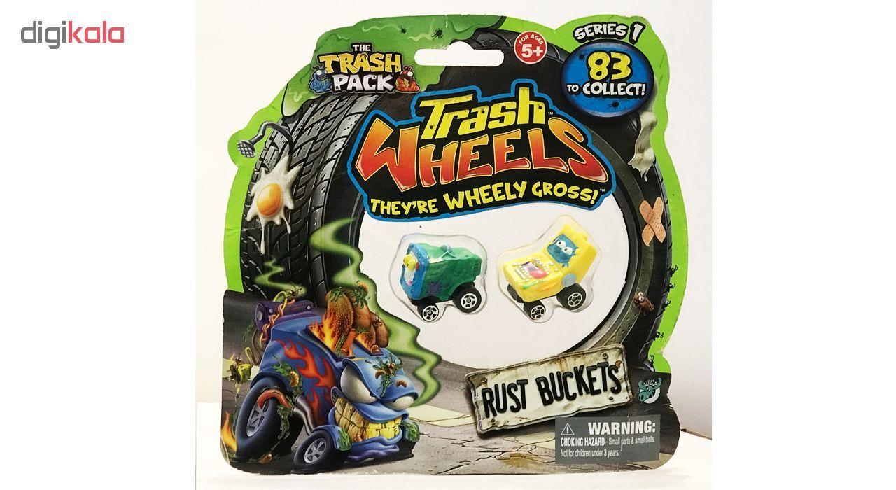ماشین اسباب بازی ترش پک مدل Rust Buckets بسته 2 عددی main 1 8