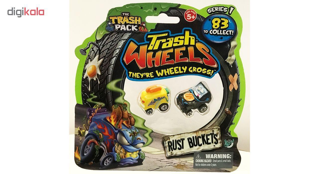 ماشین اسباب بازی ترش پک مدل Rust Buckets بسته 2 عددی main 1 9