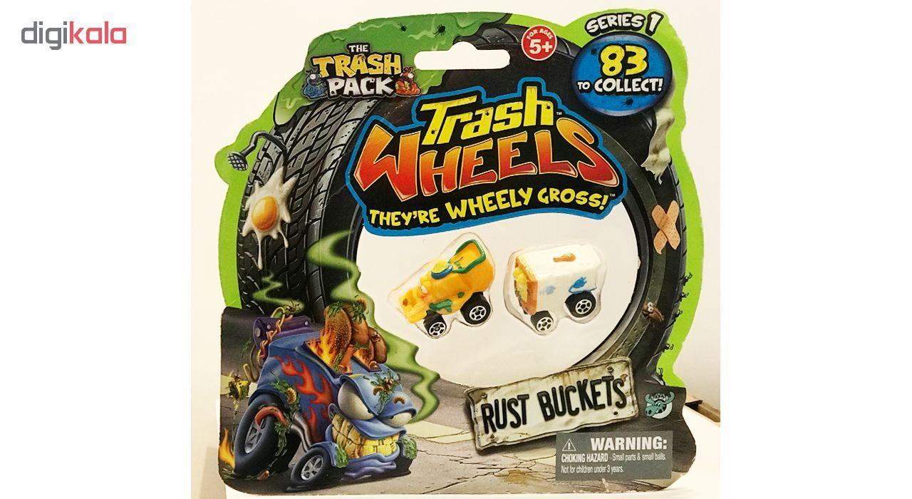 ماشین اسباب بازی ترش پک مدل Rust Buckets بسته 2 عددی main 1 10