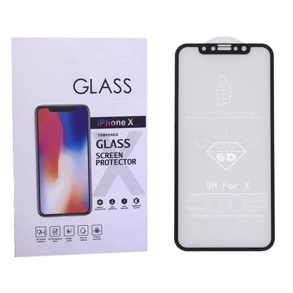 محافظ صفحه نمایش گلس مدل Nano 6D-X مناسب برای گوشی اپل آیفون X/Xs