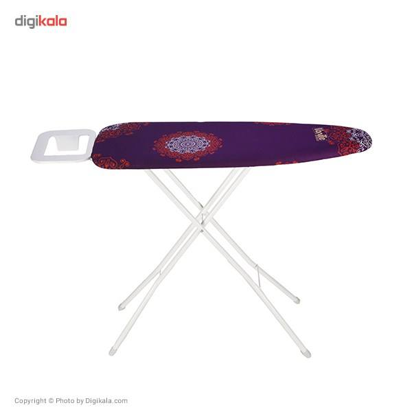 میز اتوی پایه بلند وانیلی مدل 3491 main 1 2