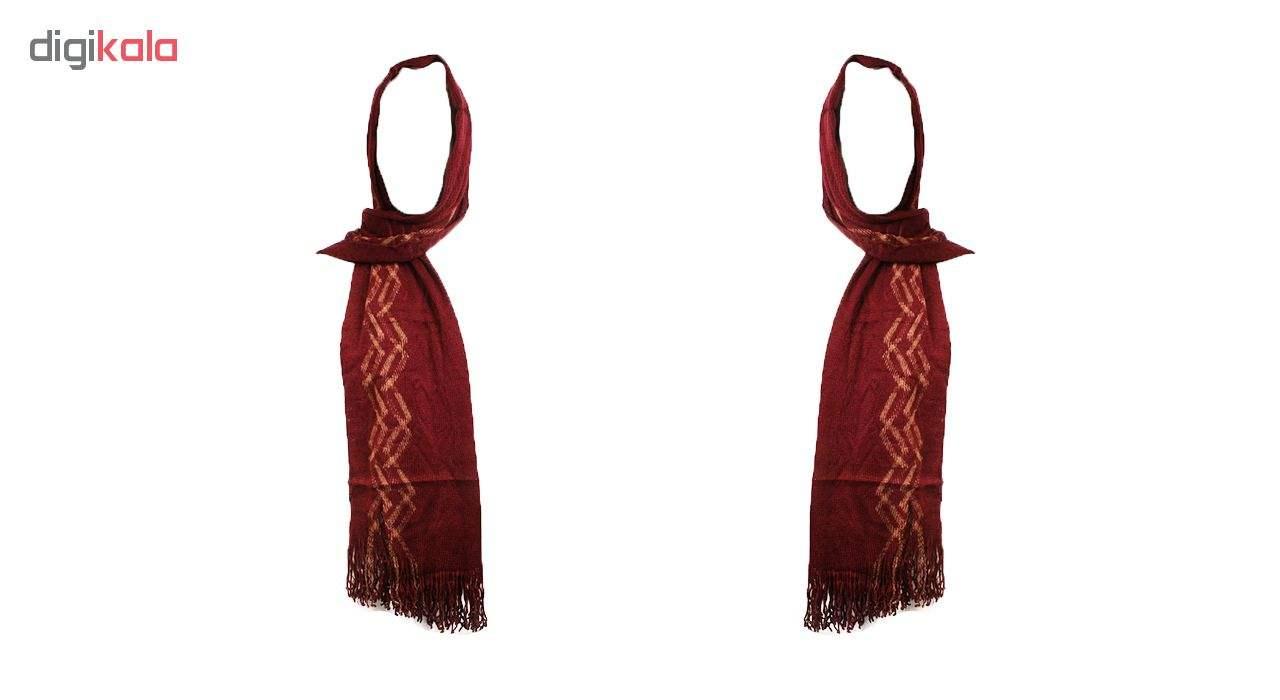 شال بافتنی زنانه مدل tarhdar_006 حاشیه دار عرض 50 سانتی متر طول 170 سانتی متر main 1 4