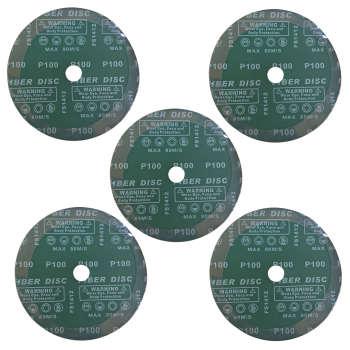 ورق سنباده دیسکی اورینت کرافت مدل P100 قطر 180 میلی متر بسته 5 عددی