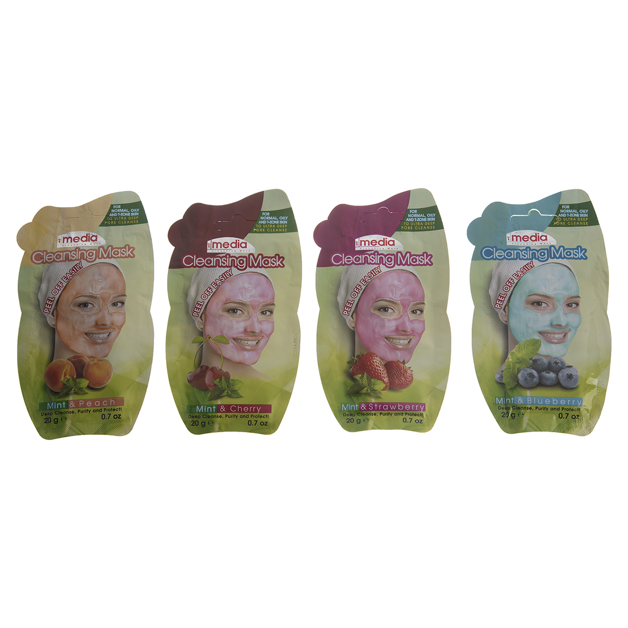 قیمت ماسک صورت مدیا مدل Peel Of Easily بسته 4 عددی