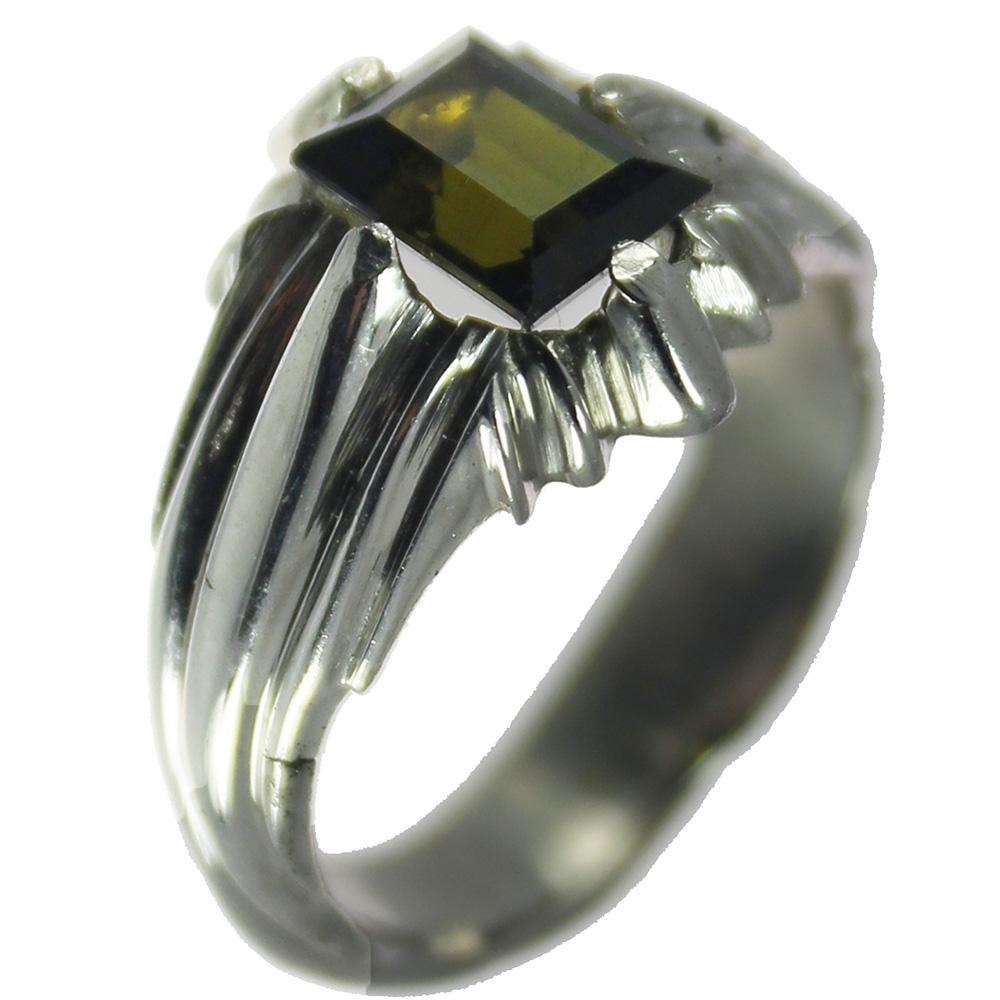 انگشتر نقره مردانه مدل 1144
