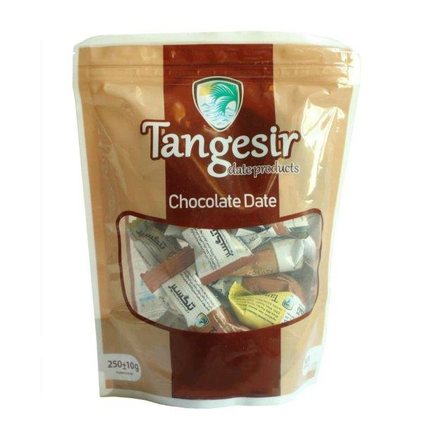 خرما شکلاتی مغزدار مخلوط تنگسیر - 250 گرم