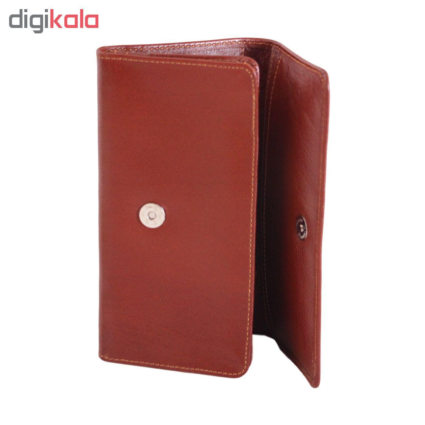 کیف پول چرم طبیعی آدین چرم مدل DM23.1  main 1 11