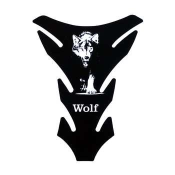 برچسب باک موتور سیکلت مدل Wolf