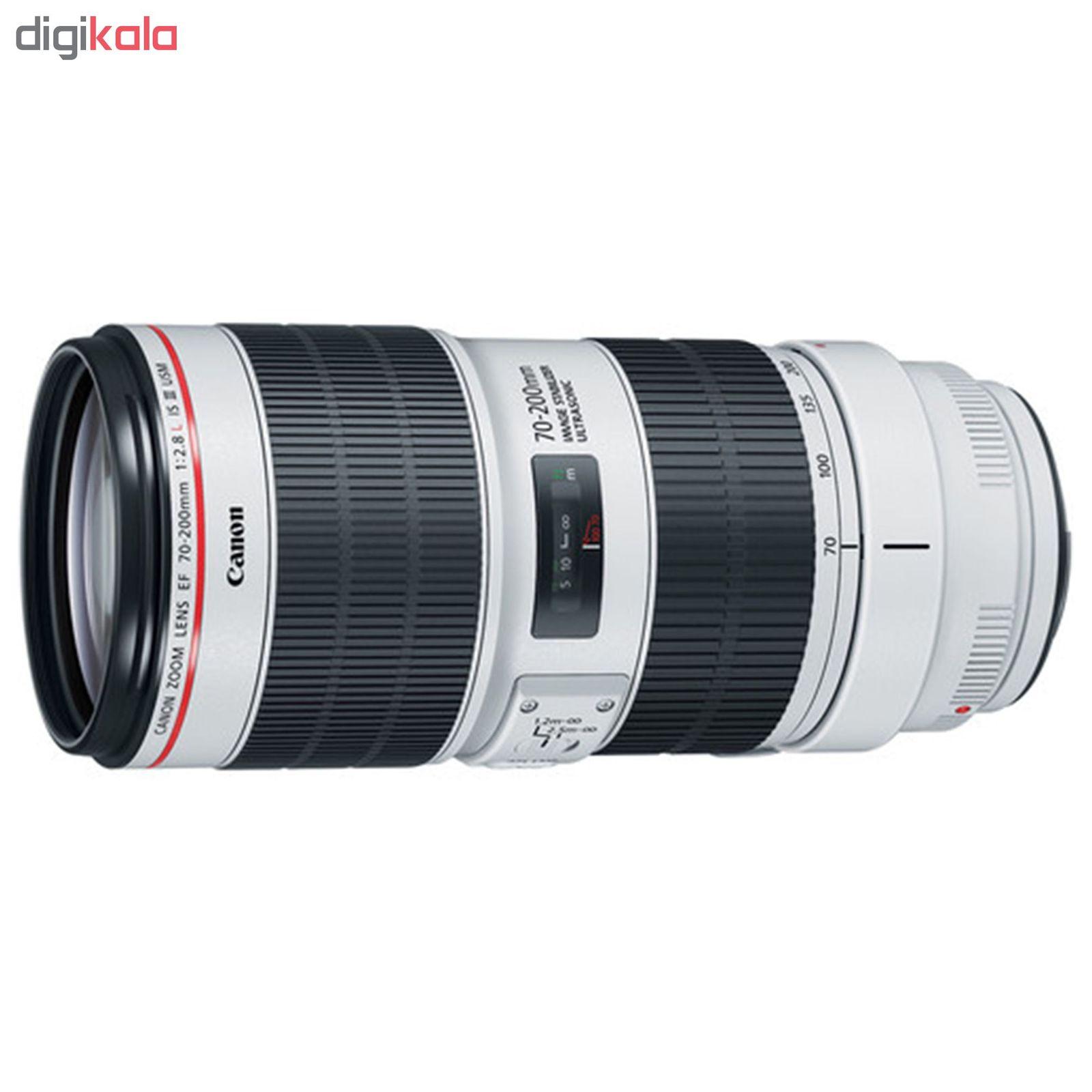 لنز کانن مدل EF 70-200mm f/2.8L IS III USM main 1 2