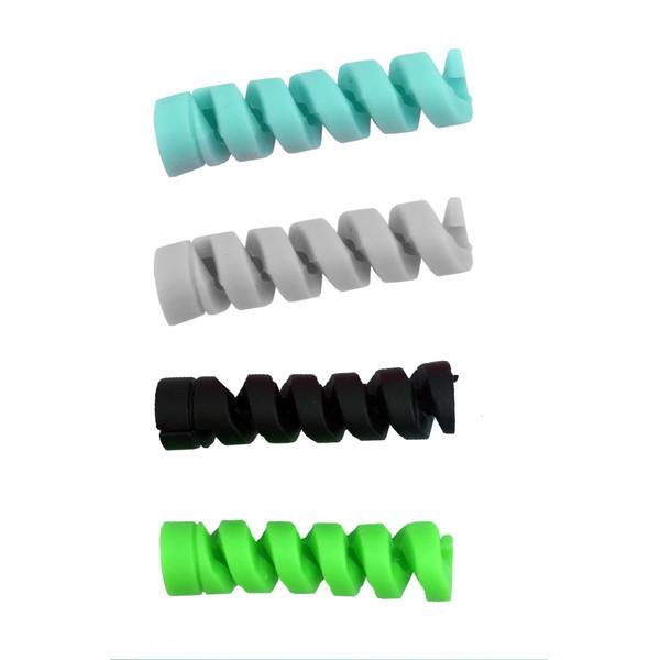 محافظ کابل سیلیکونی مدل F4 بسته چهار عددی