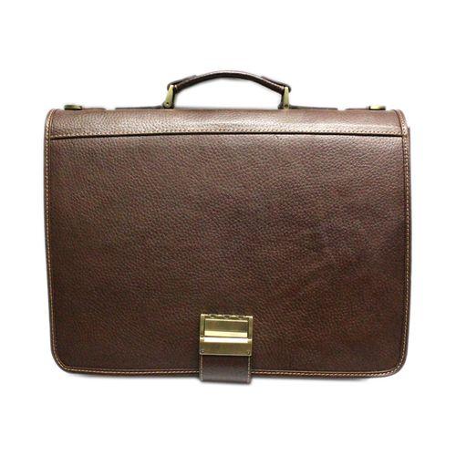 کیف اداری مردانه چرم آرا مدل e054