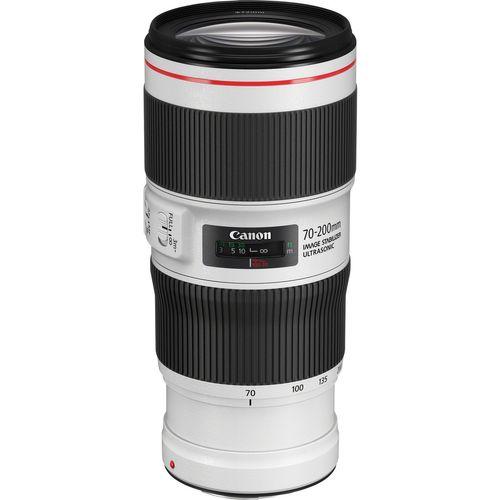 لنز کانن مدل EF 70-200mm f/4L IS II USM