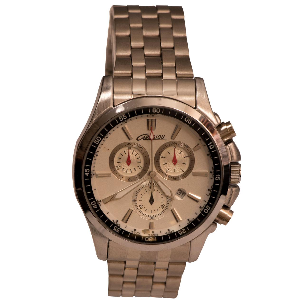 ساعت مچی عقربه ای مردانه کاردکیو مدل CARDQIOU11