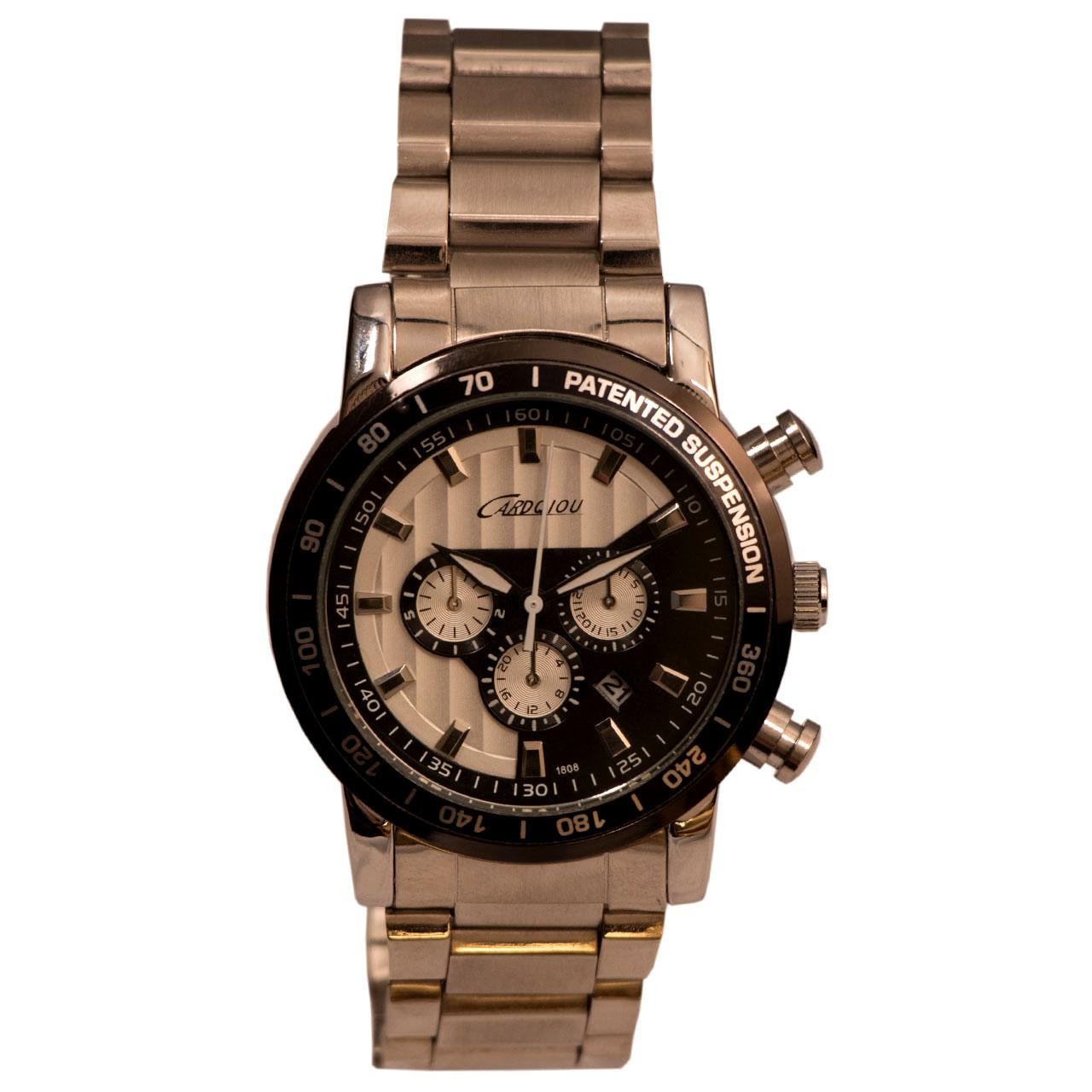 ساعت مچی عقربه ای مردانه کاردکیو مدل CARDQIOU12