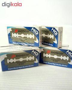 تیغ یدک دورکو مدل HQ بسته 50 عددی  Dorco HQ Double Edge Blades 50pcs