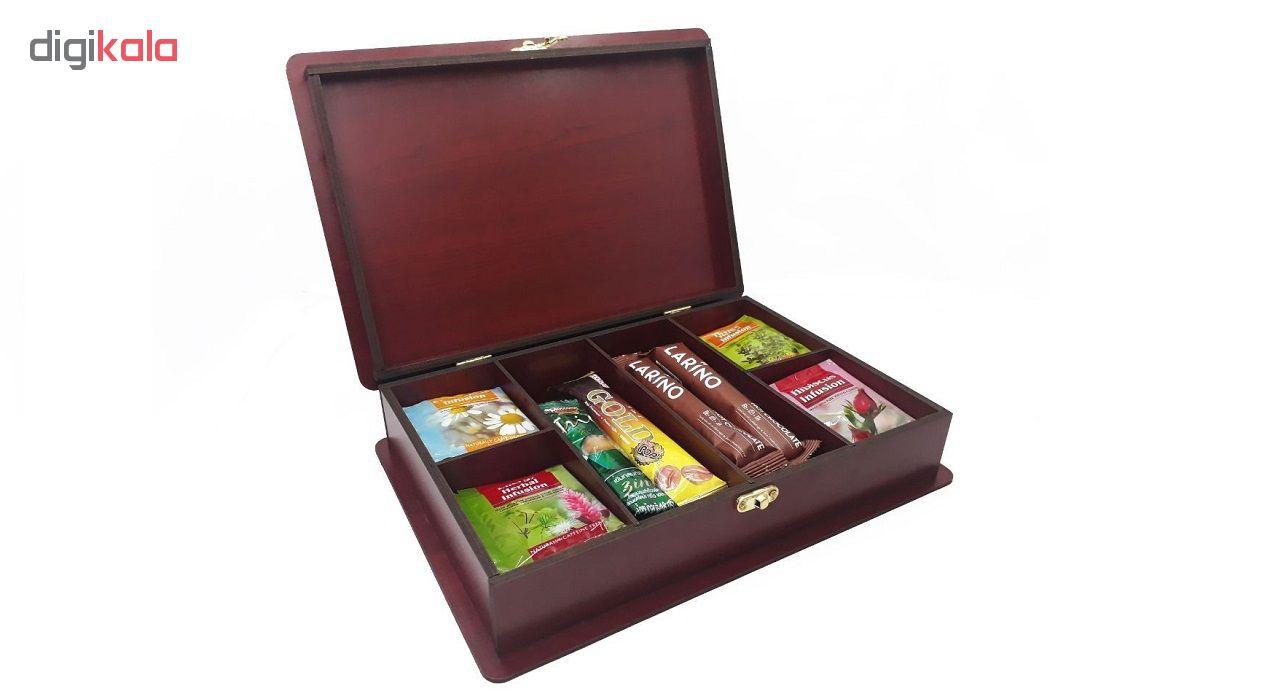 جعبه دمنوش و چای کیسه ای کد 30