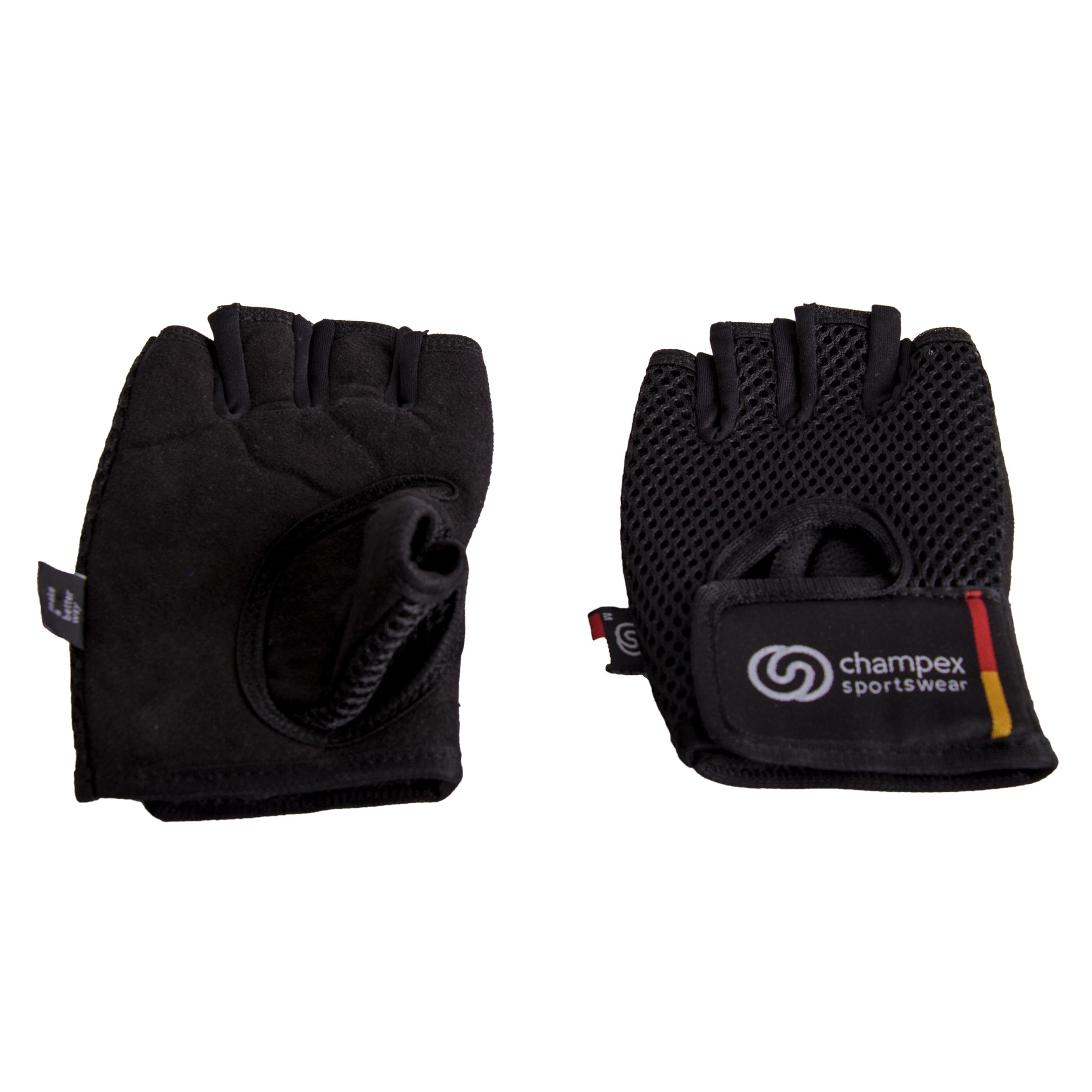 دستکش تمرین چمپکس مدل Fit Palm Black