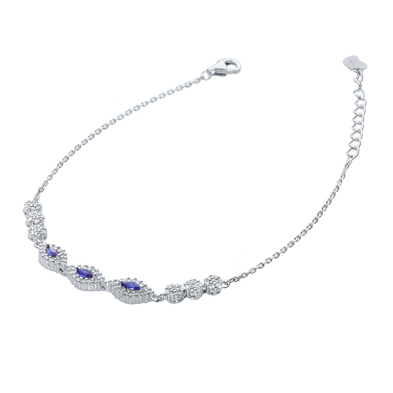 قیمت دستبند نقره اقلیمه کد DN339