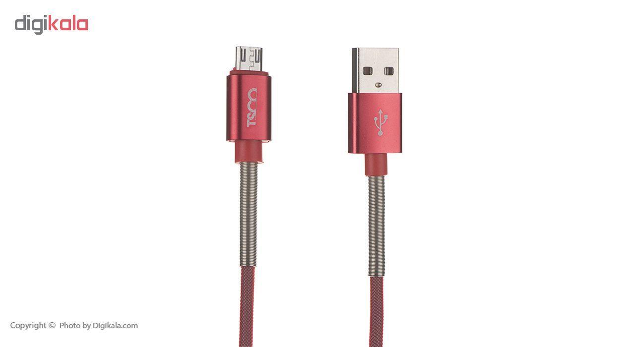 کابل تبدیل USB به microUSB تسکو مدل TC 97 طول 1 متر main 1 3
