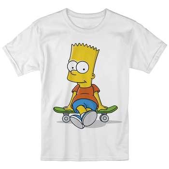تی شرت بچگانه انارچاپ طرح بارت سیمپسون مدل T09032 |
