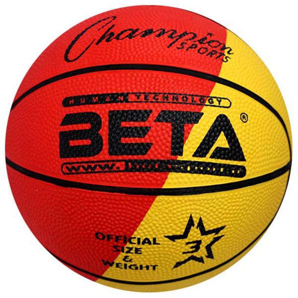 توپ بسکتبال بتا مدل PBR3-MC-2 طرح الوان سایز 3 سایز 3