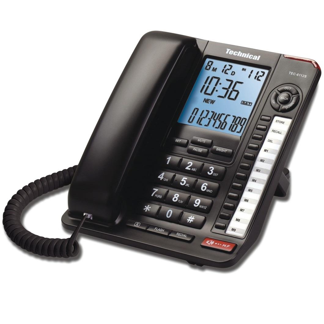 تصویر تلفن تکنیکال مدل TEC-6112