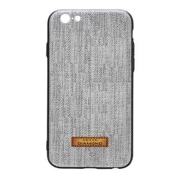 کاور دیاموند مدل Gray Fabric مناسب برای گوشی موبایل اپل iPhone 6 Plus