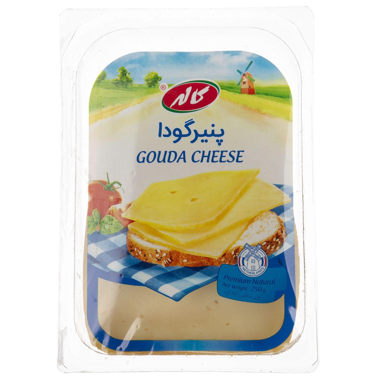 پنیر گودا ورقه ای کاله مقدار 250 گرم