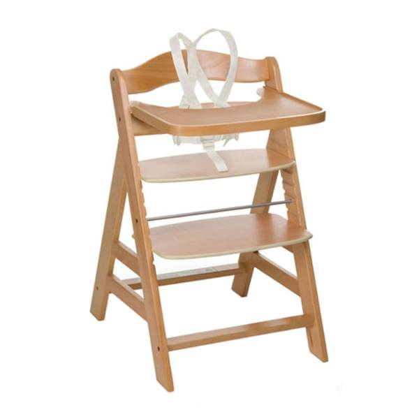 صندلی غذاخوری چوبی هاوک مدل GammaNatural