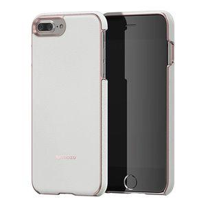 کاور موزو مدل White Leather مناسب برای گوشی موبایل آیفون 8 پلاس