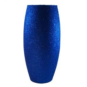 گلدان شیشه ای مدل تک رنگ