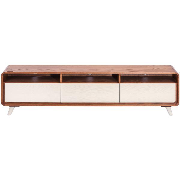 میز تلویزیون آیلکس مدل LONIZ 3Dplus - WALNUT - 180