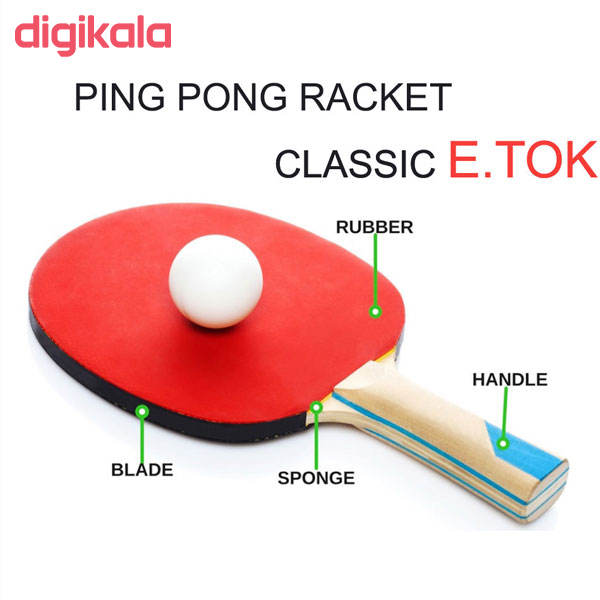 راکت پینگ پنگ مدل  ایتوک main 1 2