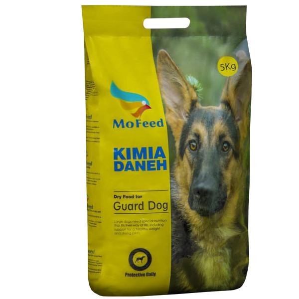 غذای خشک سگ  مدل MOFEED پروتئین 28 درصد وزن 5 کیلوگرم
