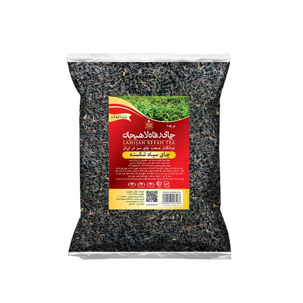 چای سیاه شکسته رفاه لاهیجان مقدار 1 کیلوگرم