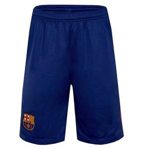 شورت ورزشی مردانه طرح تیم بارسلونا کد 0032