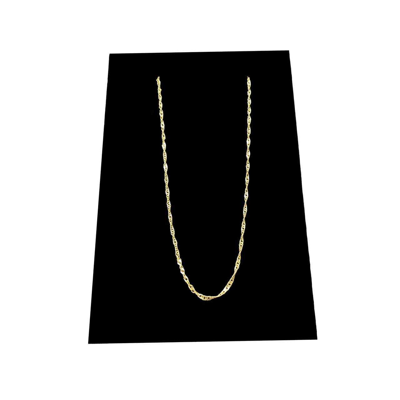 قیمت زنجیر طلا 18 عیار گیرا گالری مدل G113