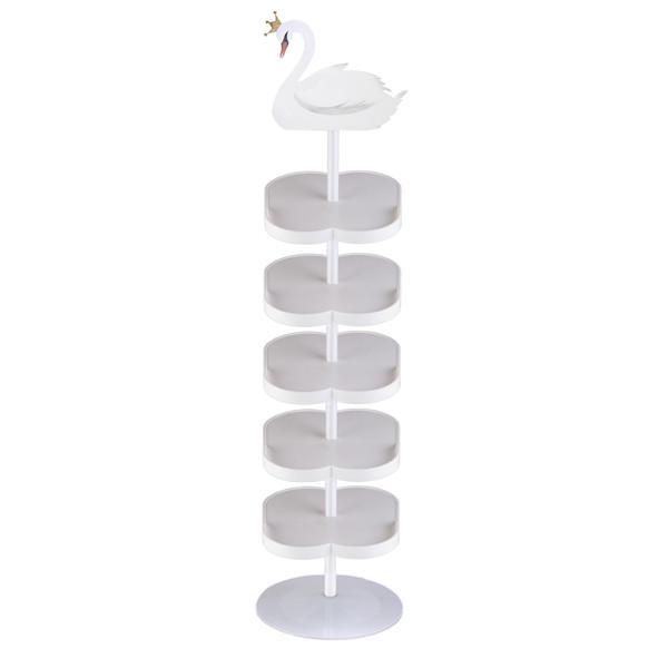 جاکفشی سیسمونی بی بی کمپ  مدل قو عسل 5 طبقه
